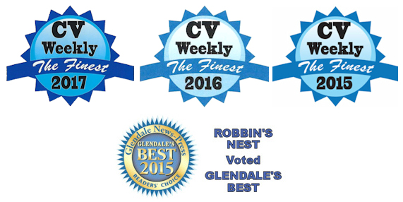 Robbins Nest voted Glendale's Best